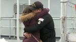 HMCS Glace Bay and HMCS Shawinigan say farewell