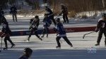 9th Long Pond Hockey Classic in Windsor, N.S.