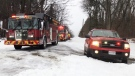 Abandoned snowmobile prompts search and rescue