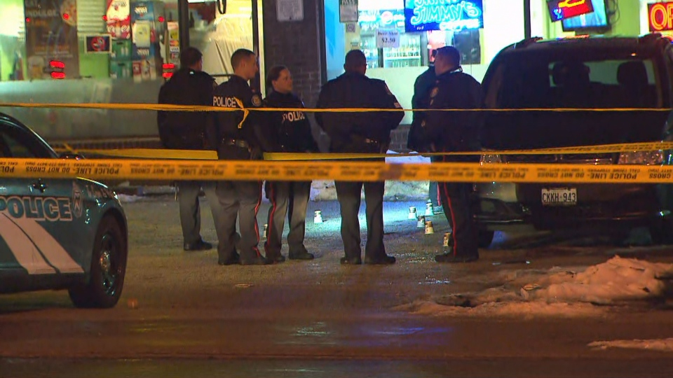 Toronto police are investigating a shooting in Scarborough that left one person dead and two others injured.