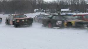 The ice racers in the Kahnawake Marina Super Series rip and slip around the frozen oval on the South Shore every year once the ice is thick enough.