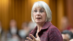 Health Minister Patty Hajdu responds to a question during Question Period in the House of Commons Tuesday December 10, 2019 in Ottawa. THE CANADIAN PRESS/Adrian Wyld
