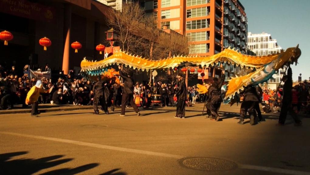 Coronavirus fears do not dampen Calgary's Chinese New Year festivities