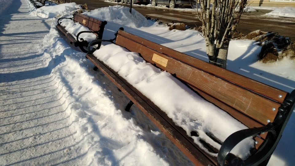 commemorative plaques, memorial bench, stolen