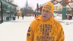 Steve McNeil skated 19 hours and 26 minutes straight to raise money for Alzheimer's awareness.
