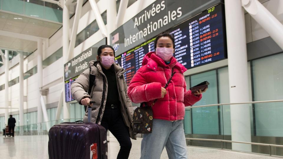 coronavirus, pearson airport