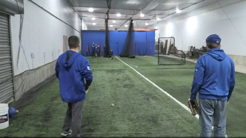 With baseball season just months away, this season players in Orillia are getting a little extra support to compete with larger markets.