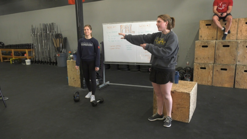 CrossFit Armoury hosted a workout on Jan. 26, 2020, in Nicole 'Pal' Palladino's honour after she broke her back in a bike crash in Costa Rica on Jan. 14.