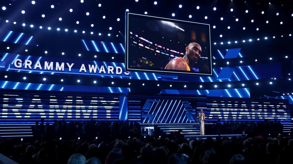 Grammy Awards honour Kobe Bryant with touching performance