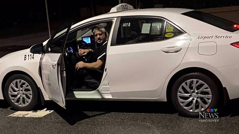 Taxi driver shouts profanity, racial slur