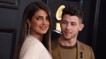 Priyanka Chopra, left, and Nick Jonas arrive at the 62nd annual Grammy Awards at the Staples Center on Sunday, Jan. 26, 2020, in Los Angeles. (Photo by Jordan Strauss/Invision/AP)