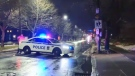Halifax Regional Police investigate a shooting in the area of Connaught and Chisholm avenues on Jan. 27, 2020.