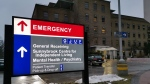 Sunnybrook Hospital is shown in Toronto on Jan. 26, 2020.  (Doug Ives / THE CANADIAN PRESS)