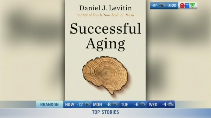 Neuroscientist and author talks successful aging