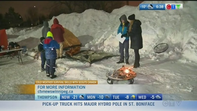 Winter camping tips from Scouts Canada