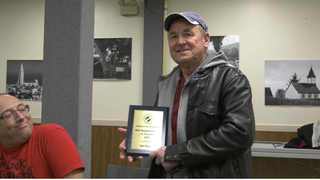 Timmins man wins 'Best Spaghetti Sauce' title at Kinsmen event