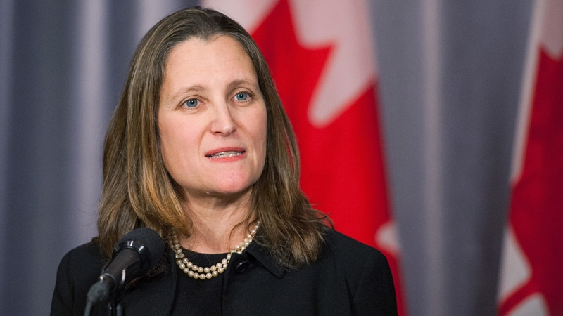 Deputy PM Freeland discusses NAFTA