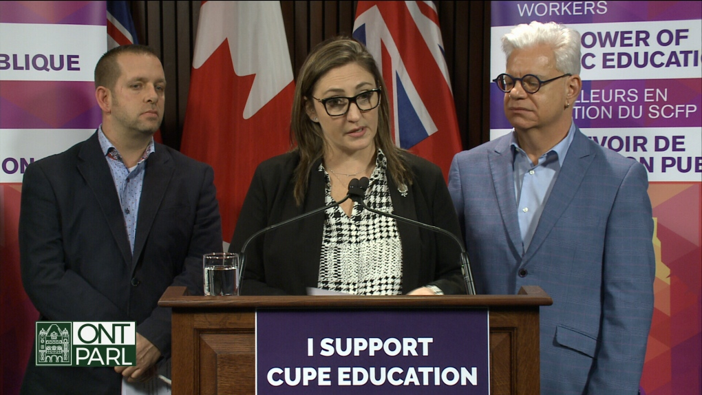 CUPE claims Ford government not holding up its end of the bargain