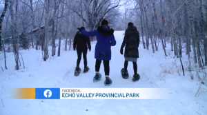 A brand new skating rink and snowshoeing trails have been installed at a local provincial park in Fort Qu'Appelle