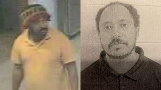Tesfaye Asefa is seen in these undated images. (Toronto Police Service)