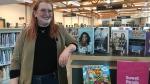 Ann Foster, selection librarian at Saskatoon Public Library. (Carla Shynkaruk/CTV Saskatoon)
