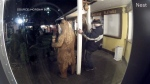 Baby Bear's Ice Cream Shoppe owner Kathy Yeager says she was awoken at 2:30 a.m. Monday by an alarm on the shop's security camera. (CTV News)