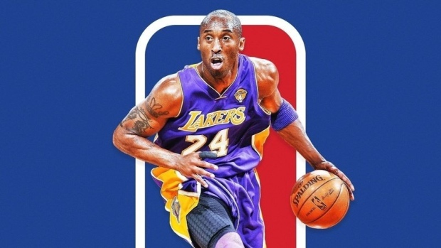 A new petition is calling on the NBA to add Kobe Bryant to its logo to honour the former Los Angeles Laker's memory. (Change.org)