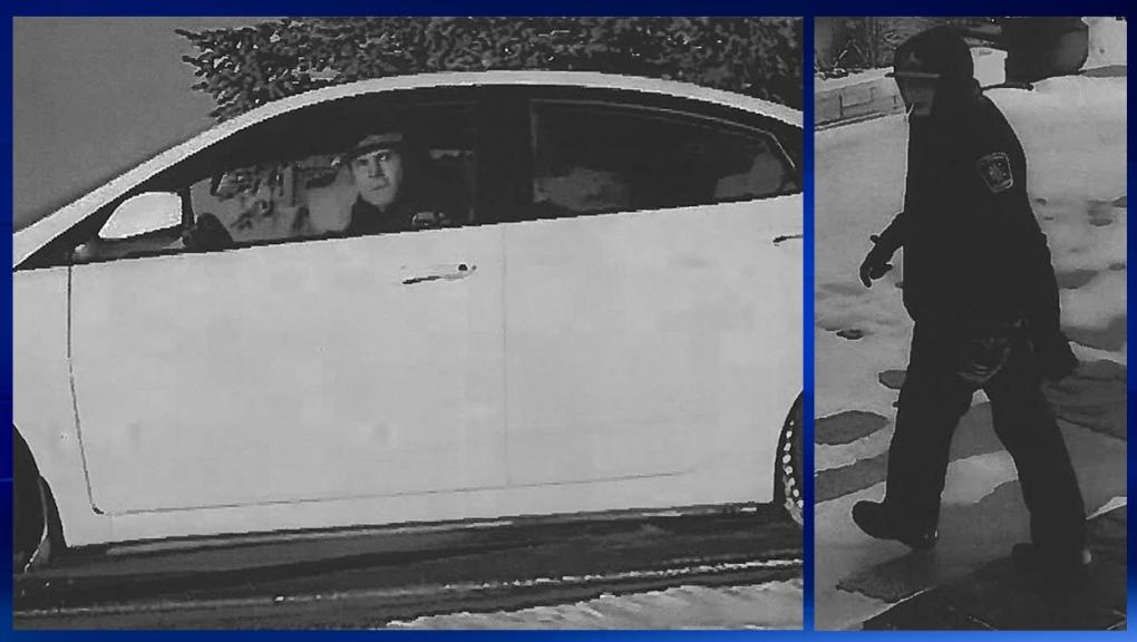 Airdrie RCMP release surveillance photos of rural break-in suspects