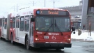 OC Transpo buses from higher-frequency routes will be used to shuttle passengers from three major stations as the system deals with a shortage of available trains on Monday, Jan. 27, 2020.