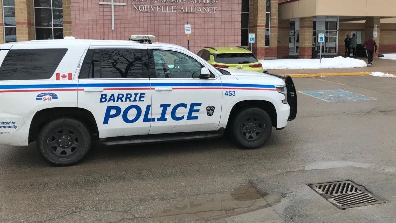 Gun found in Barrie high school