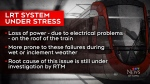 Wet, icy weather may cause LRT power problems