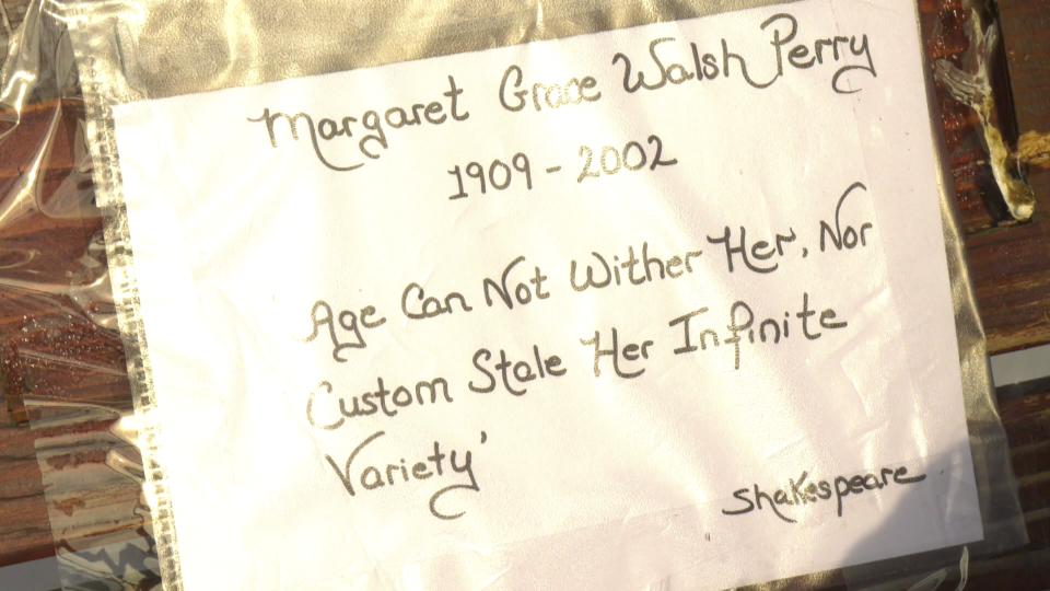 Sheelagh Perry, commemorative plaque
