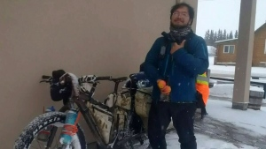 Alta. town helps replace cyclist's stolen bike