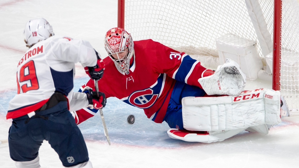 Habs lose to Capitals