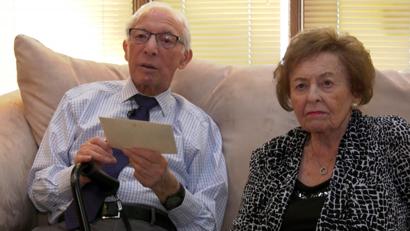 Watch: Holocaust survivors Sidney and Bronia Cyngiser reflect on the 75th anniversary of the liberation of Auschwitz