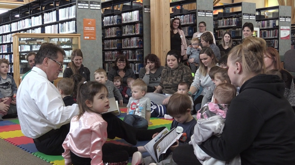 Books for babies: Timmins library looks to improve pre-kindergarten literacy