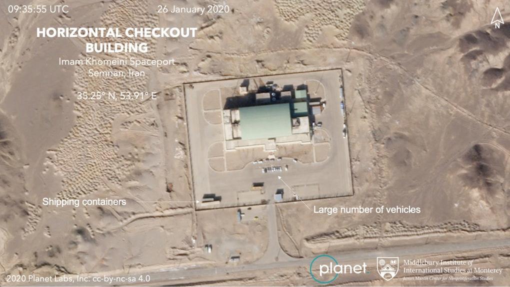 iran satellites