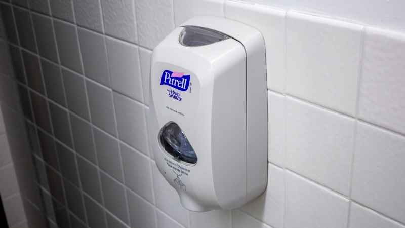 The U.S. Food and Drug Administration is giving the maker of Purell products a stern warning: Stop making unproven claims that over-the-counter hand sanitizers help eliminate Ebola, MRSA or the flu. (Shutterstock/CNN)