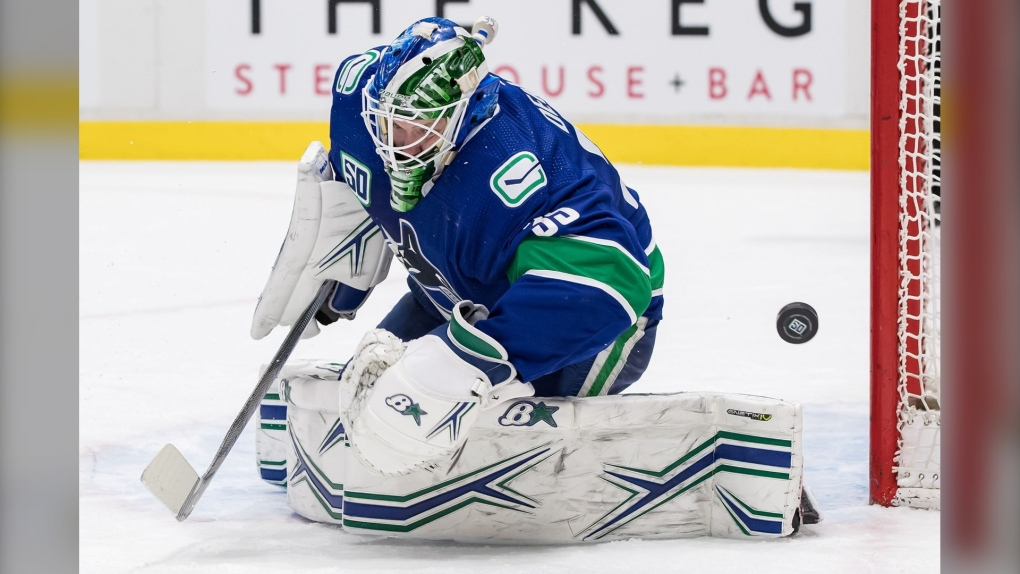Vancouver Canucks beat St. Louis Blues for 9th straight home win