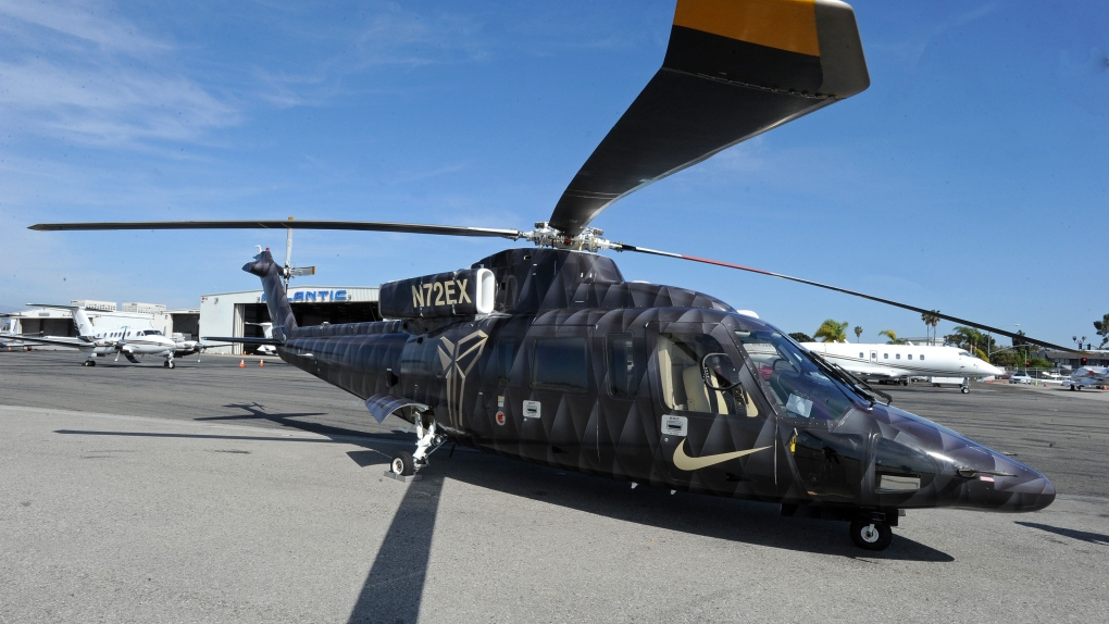 Sikorsky S-76B: What we know about the helicopter in the Kobe Bryant crash
