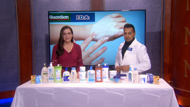 It's the season of dry skin. We'll talk to a pharmacist about some options to help and conditions to be concerned about