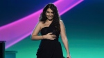"""Alessia Cara performs """"Querer Mejor"""" at the Latin Recording Academy Person of the Year gala honoring Juanes at the MGM Conference Center on Wednesday, Nov. 13, 2019, in Las Vegas. Grammy-winning singer-songwriter Alessia Cara will host this year's Juno Awards in Saskatoon. THE CANADIAN PRESS/AP, Chris Pizzello/Invision"""
