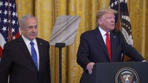 Israeli PM Netanyahu visits the White House