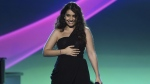 Alessia Cara performs at the Latin Recording Academy Person of the Year gala in Las Vegas, on Nov. 13, 2019. (Chris Pizzello / Invision / THE CANADIAN PRESS / AP)