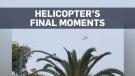 Moments before helicopter crash that killed Kobe B