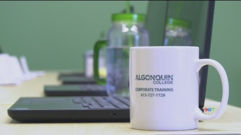 Algonquin College's new Corporate Learning Centre