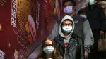 People wear masks at a metro station in Taipei, Taiwan, Tuesday, Jan. 28, 2020. (AP / Chiang Ying-ying)