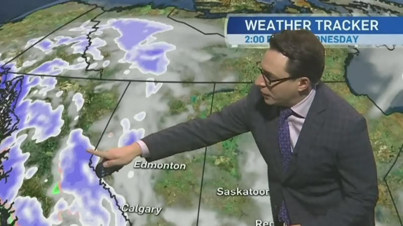 Foggy conditions and flurries