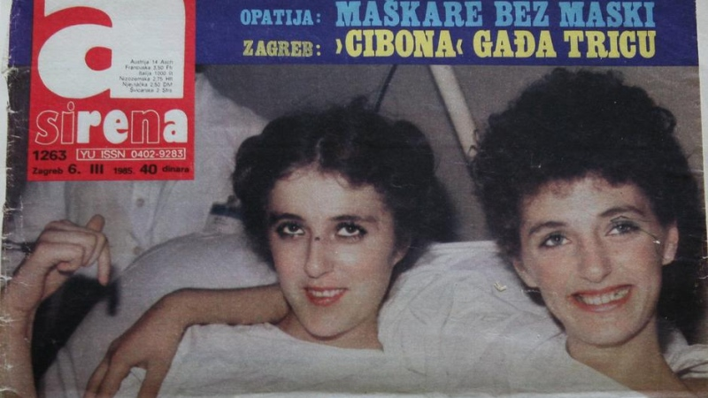 Culjak sisters in hospital after their accident (Sima Culjak)