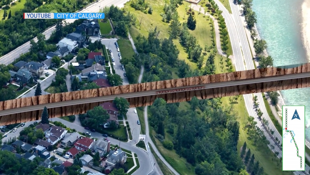 Calgary Green Line committee meets behind closed doors as it considers route options
